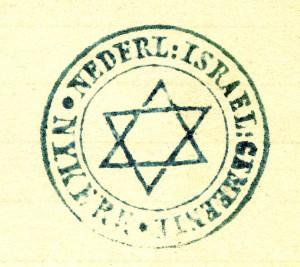 Stempel Joodse Gemeenschap